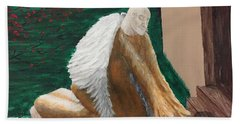 Fallen Angel Bath Towel