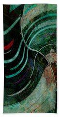 Bath Towel featuring the digital art Fallen Angle by Sheila Mcdonald