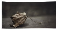 Fallen Leaf Bath Towel