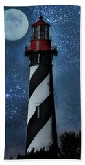 Falling For You St Augustine Lighthouse Bath Towel