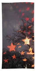 Falling Stars And I Wish.... Bath Towel