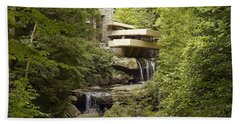 Falling Water Hand Towel by Carol Highsmith