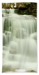 Falling Waters Hand Towel by Roupen  Baker