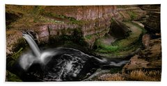 Falls At Palouse Bath Towel