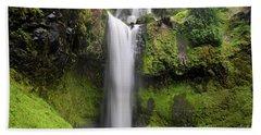 Falls Creek Falls In Washington  Hand Towel