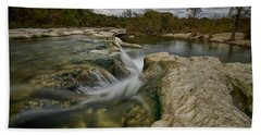Texas Hill Country Falls Hand Towel