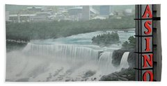 Falls View Hand Towel by Kenneth M  Kirsch