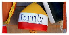 Family Buoy Bath Towel