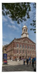 Faneuil Hall Boston Bath Towel