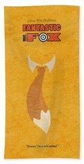 Fantastic Mr. Fox Bath Towel