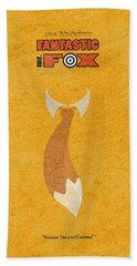 Fantastic Mr. Fox Hand Towel