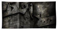 Fantasy - Haunted - It Was A Dark And Stormy Night Hand Towel