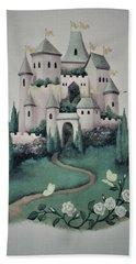 Fantasy Castle Hand Towel
