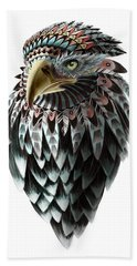 Fantasy Eagle Bath Towel by Sassan Filsoof