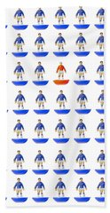 Fantasy Football Team Bath Towel by John Colley