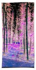 Fantasy Forest Bath Towel