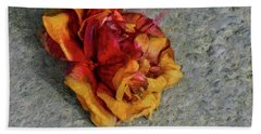 Bath Towel featuring the photograph Far From Heaven by Steve Taylor