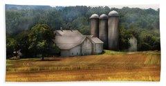Farm - Barn - Home On The Range Hand Towel