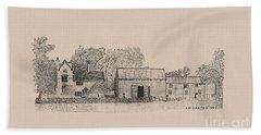 Farm Dwellings Hand Towel