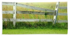 Farm Fence Bath Towel