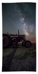 Hand Towel featuring the photograph Farmall by Aaron J Groen