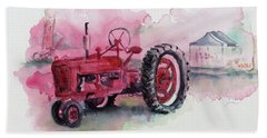 Farmall Bath Towel