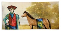 Fashionably Western Hand Towel