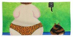 Fat Cats Bath Towel
