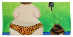 Fat Cats Hand Towel