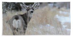 Father Deer Bath Towel