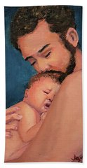 Fatherhood Bath Towel