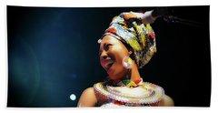 Fatoumata Diawara Bath Towel