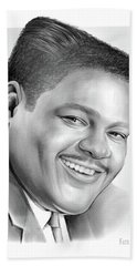 Fats Domino Bath Towel