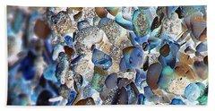 Faux Sea Glass Hand Towel