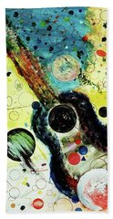 Hand Towel featuring the mixed media Favorites by Michael Lucarelli