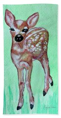 Fawn Hand Towel