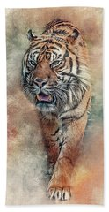 Fearless Hand Towel by Brian Tarr