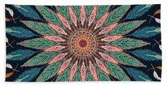 Feather Mandala IIi Hand Towel