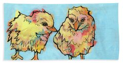 Feathered Friends Bath Towel