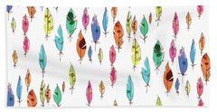 Feathers Hand Towel