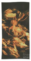Feathers And Darkness Bath Towel