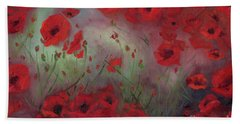 Feeling Poppy Hand Towel