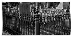Fenced Grave Hand Towel