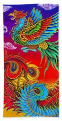 Fenghuang Chinese Phoenix Hand Towel
