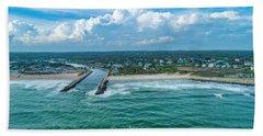 Fenway Beach, Weekapaug,ri Hand Towel