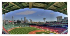 Fenway Park Interior  Bath Towel by Joann Vitali