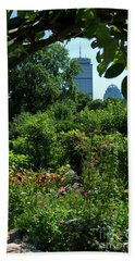 Fenway Victory Gardens In Boston Massachusetts  -30951-30952 Hand Towel