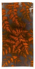 Fern Art Bath Towel