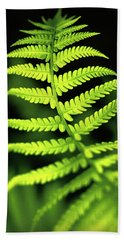 Fern Leaf Hand Towel