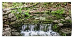 Fern Spring 5 Hand Towel by Ryan Weddle